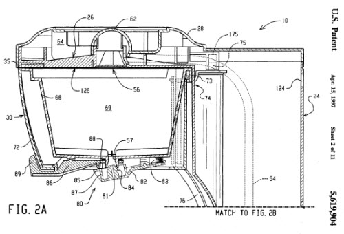 Tea Steeping Device Patent Diagram (Screen capture from site)