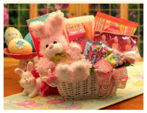 Bunny Fun Easter Gift Basket (ETS image)
