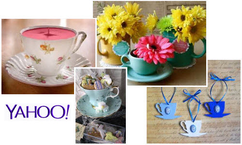 Teacup Decorations from Yahoo! Images