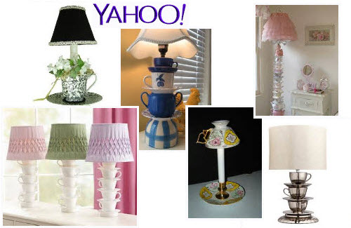 Teacup Lamps from Yahoo! Images