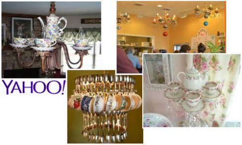Teapot Chandeliers from Yahoo! Images