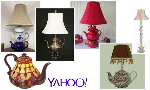 Teapot Lamps from Yahoo! Images