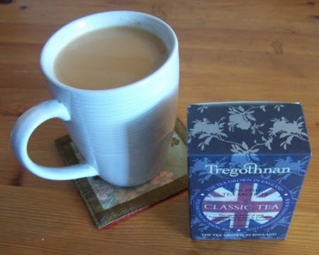 Tregothnan Classic Tea (photo by Elise Nuding, all rights reserved)