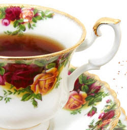 Black tea in the cup (ETS Image)
