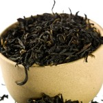 Tea leaves ready for packing and shipping. (stock image)