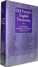 Cambridge Old French-English Dictionary (Image via Yahoo! Images)