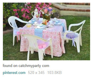 An outdoor setting is best, if possible. (From Yahoo! Images)