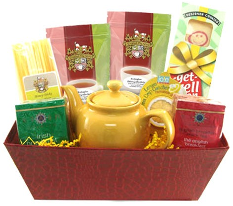 Just What The Doctor Ordered - Get Well Tea Gift Basket (ETS Image)