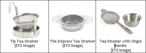 Mesh strainers