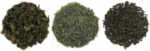 Oolong-Sencha-Puerh: Health benefit triple threat? Or nightmarish tea blend? (ETS images)