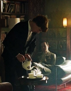 It's quite possible that Sherlock would point out your faux pas, but most British won't. (Image seen on Pinterest)