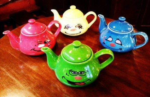 Sugar N' Spice: Cheeky and Colourful Teapots (photo by May King Tsang, all rights reserved)