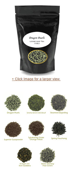 Green Tea Sampler - chock full of memory enhancers? Hope so! (ETS image)