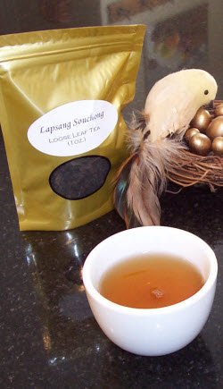 Lapsang Souchong China Black Tea (Photo by A.C. Cargill, all rights reserved)