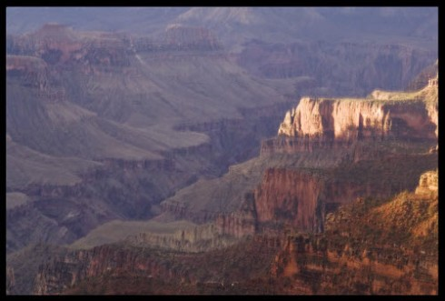 The Grand Canyon - a great hiking spot but not a tea room in sight! (photo by A.C. Cargill, used with permission)