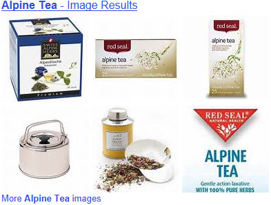 Alpine Teas (From Yahoo! Images)
