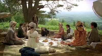 "Picnic scene from the movie ""Emma"" (1996) (click on image to go to source site)"