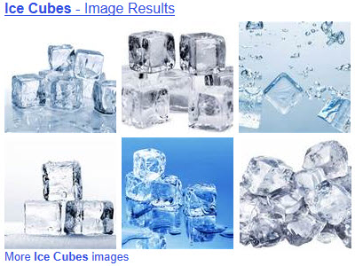 Ice cubes in your tea? The choice is yours. (From Yahoo! Images)