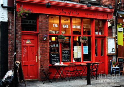 Dublin Tea Shop (Screen capture from site)