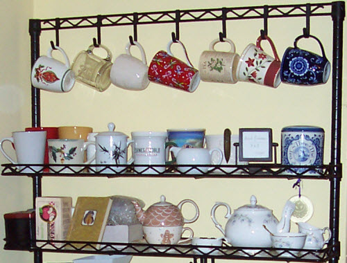 The display in our house that made folks ask when we'd set up shop! (Photo by A.C. Cargill, all rights reserved)