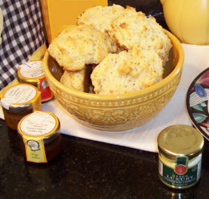 Scone fever sets in as tea time draws near! (Photo by A.C. Cargill, all rights reserved)