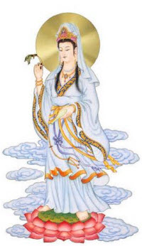 Guanyin Iron Goddess of Mercy (Bodhisattva version) (Stock image)