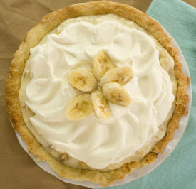 Banana cream pie with caramel (screen capture from site)