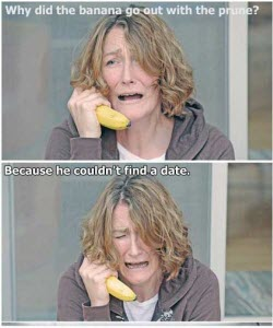One of the top 10 banana jokes. (screen capture from site)