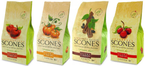 Some Sticky Fingers Scone Mix Fall Flavors (ETS image composite by A.C. Cargill)