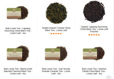 Which tea are you in the habit of drinking? (ETS image)
