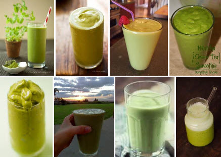 Matcha Smoothies (From Yahoo! Images)