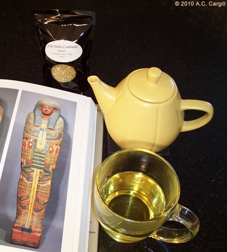 Egyptian Chamomile Caffeine Free Herbal Tea - Loose Leaf Pouches (Photo by A.C. Cargill, all rights reserved)