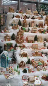 Pittsburgh, PA gingerbread house display, (c) Elizabeth Stubna