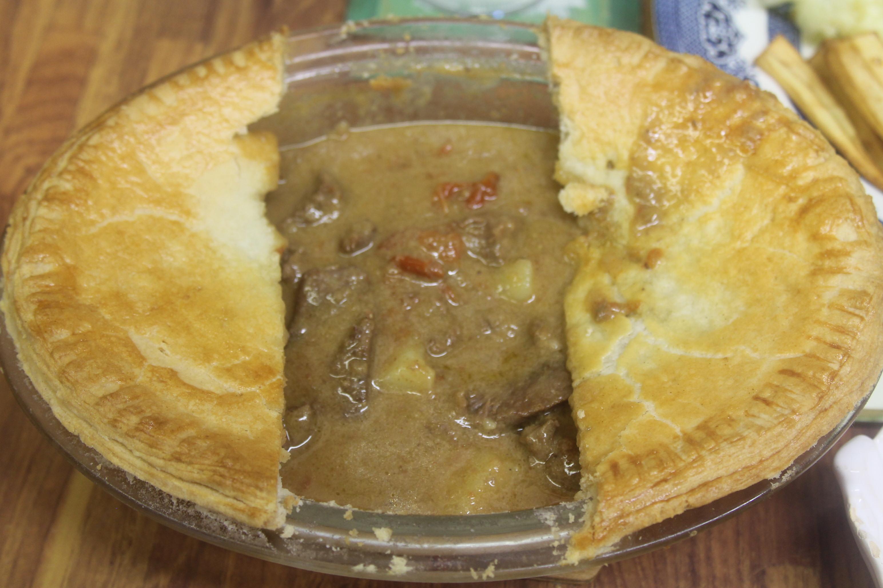 Recipe - Steak Pie - Tea Blog